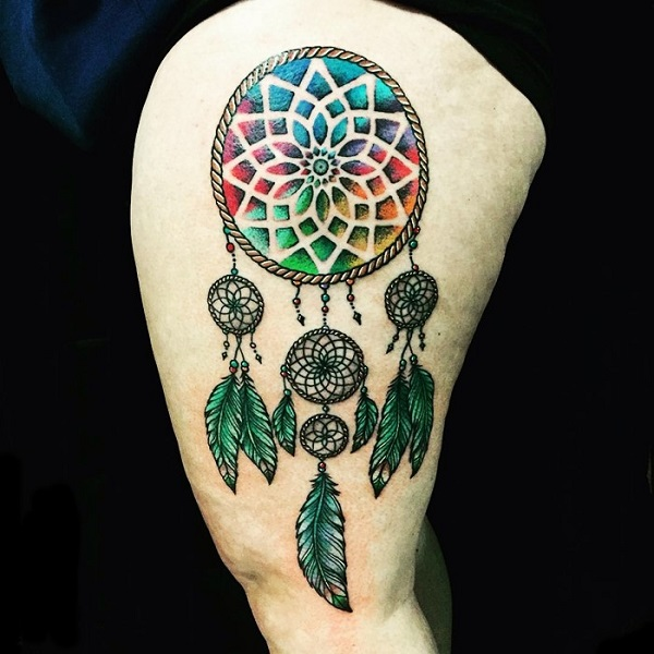 50 Dreamcatcher Tattoo Designs - nenuno creative