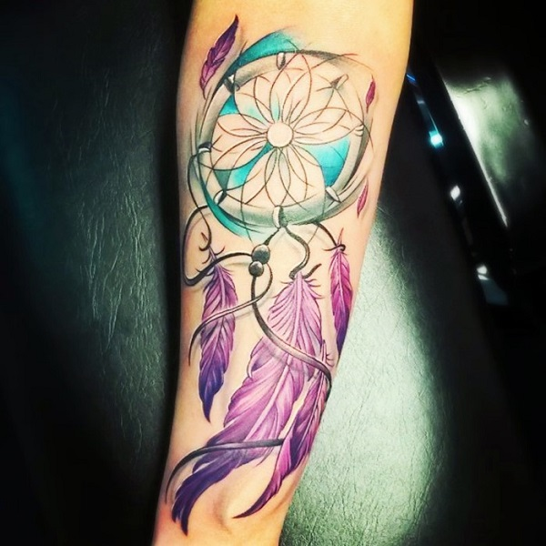 Dream Catcher Tattoos For Girls New 60 Dreamcatcher Tattoo Designs Nenuno Creative