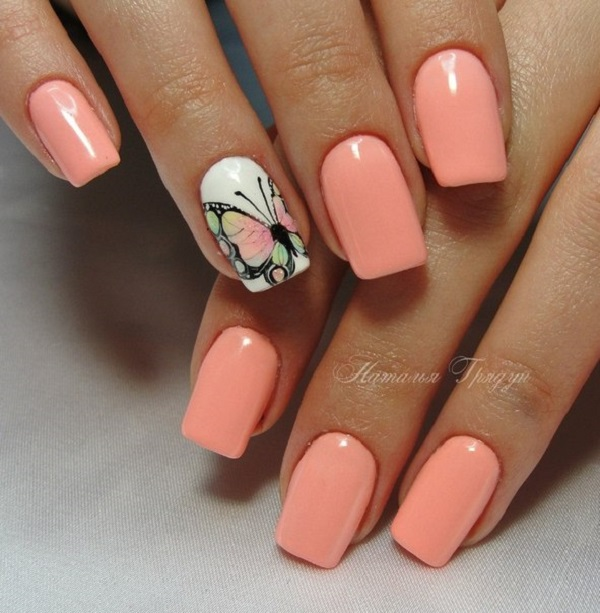 Nail Designs One Nail Different Color Nails Gallery