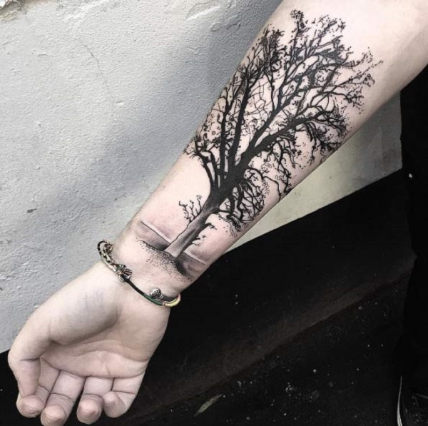 55 tree tattoo designs nenuno creative rh nenuno co uk bare tree with roots tattoo bare tree tattoo designs