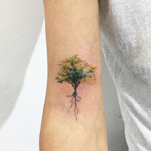 55 Tree Tattoo Designs - nenuno creative