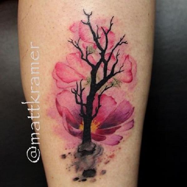 Souvent 55 Designs De Tatouages d'Arbres - Tattoo Moi BX74