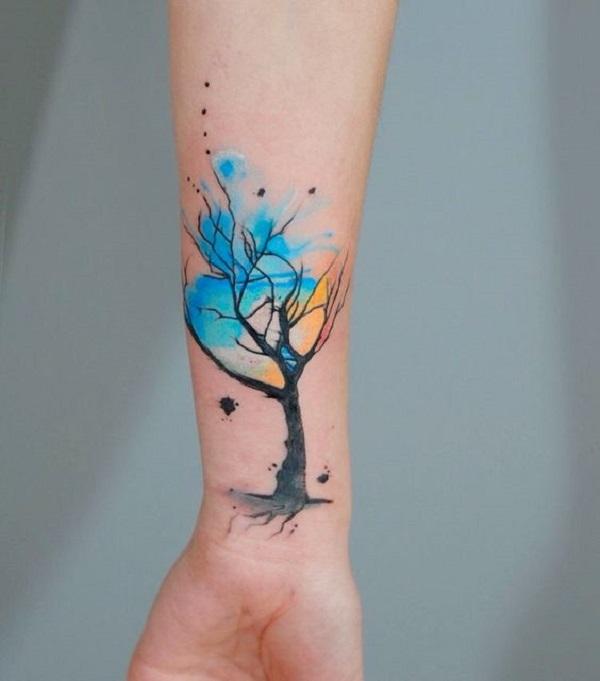 Tattoo Designs Uk: 55 Tree Tattoo Designs