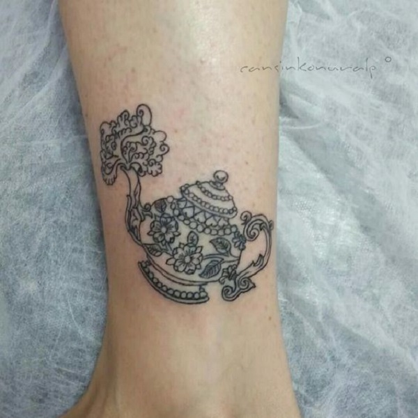 Tattoo Ideas Uk: 35 Teapot Tattoo Ideas