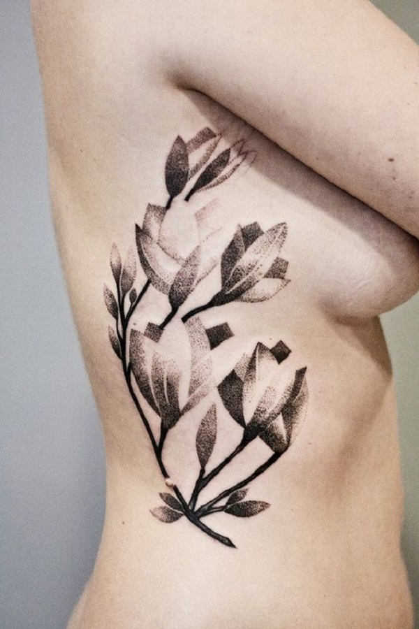 70 magnolia flower tattoo design ideas nenuno creative black and white printed magnolia flower tattoo design first the magnolia flower tattoos were mightylinksfo