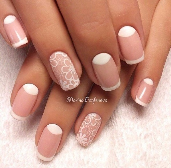 60 white nail art designs nenuno creative transparent nails are in fashion since the few months and heres it prinsesfo Image collections