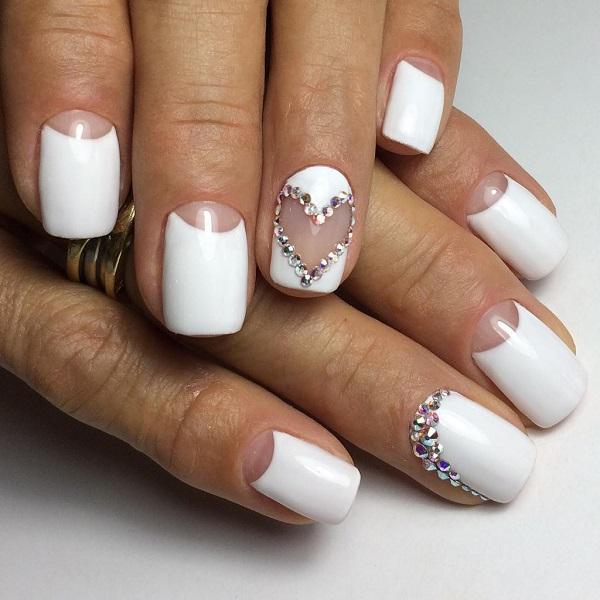 60 White Nail Art Designs - nenuno creative