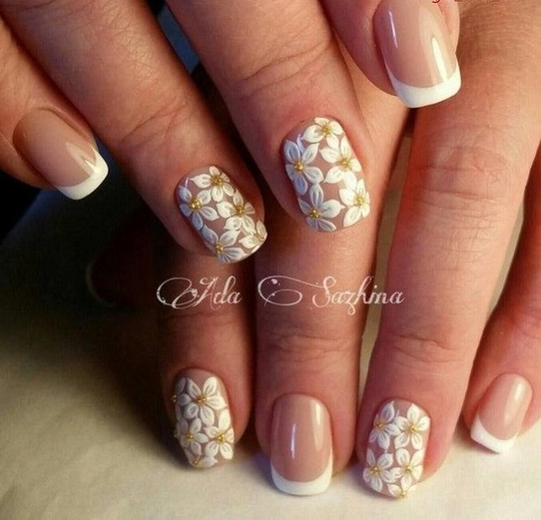 60 White Nail Art Designs - nenuno creative