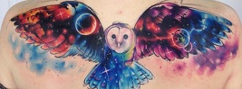 65 GALAXY  TATTOO DESIGNS