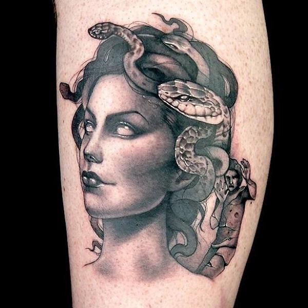 60 Medusa Tattoo Designs