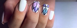 60 GEOMETRIC NAIL ART IDEAS
