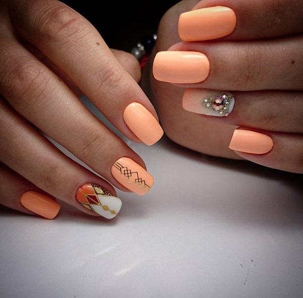 60 Geometric Nail Art Ideas Nenuno Creative
