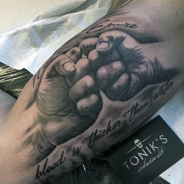 55 family tattoo ideas nenuno creative for Father son memorial tattoos