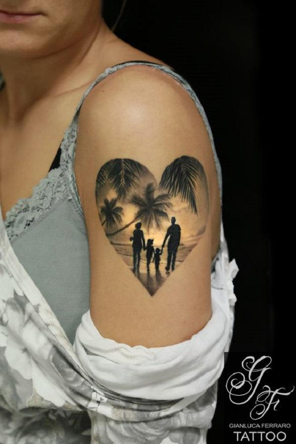 55 family tattoo ideas nenuno creative. Black Bedroom Furniture Sets. Home Design Ideas