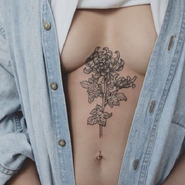 8e94e6fc8 A Flower Outline. This flower outline depicts femininity and sexuality.