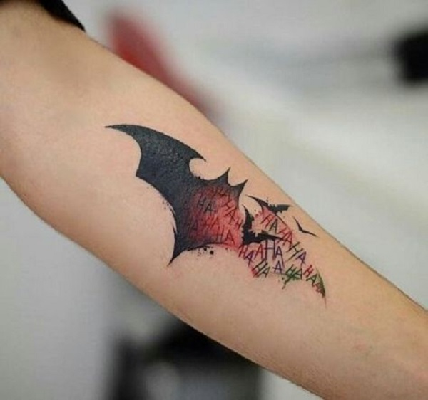 The Batman Bat Fan Of Series This Tattoo Is For You