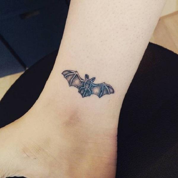 9e87e81d2e380 Tiny Bat Wrist Tattoo. This tiny little cute bat tattoo is giving me  serious tattoo