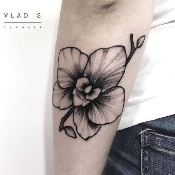 50+ Orchid Tattoo Ideas - nenuno creative